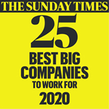 The Sunday Times 100 Best Companies to Work For - 2019 Image